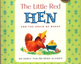The Little Red Hen and the Grain of Wheat 1961 HC/DJ Illustrated