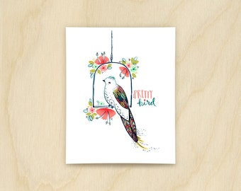 Pretty Bird Print