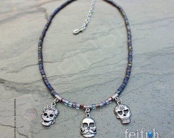 Day of the Dead, Sugar Skull Necklace