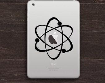 The Atomic Apple Vinyl iPad Decal BAS-0107
