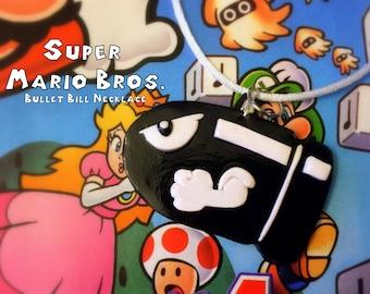 Bullet Bill Necklace - Super Mario Bros - Nintendo