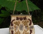 50's vintage LA REGALE -- beaded small evening purse --- wedding party
