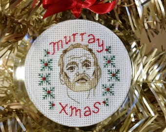 Murray Christmas Ornament - Instant Pattern