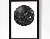 Moon / Poster 30x40 cm