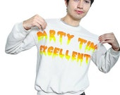 Customize Your Own Party Time Excellent Sweatshirt