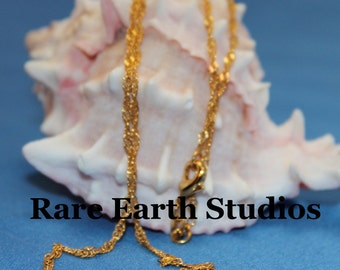 """18"""" Chain 18Kt Gold Plated 60115025"""