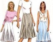 Vogue V8037 Misses' Skirt Sewing Pattern - Uncut - Size 8, 10, 12