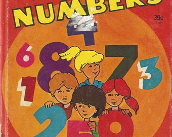 Fun With Numbers Vintage Children's Book by Shirley West, 1978