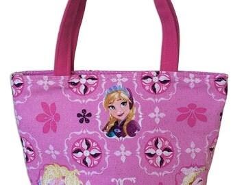 Frozen Kids Bag // Frozen Glitter Kids Bag // Disney