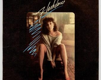 Flashdance Original Soundtrack from the Movie starring Jennifer Beals & Michael Nouri 1983 PolyGram LP Vintage Vinyl Record Album