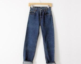 vintage Levis 701 denim jeans, Waist 26
