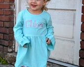 SALE Monogrammed Toddler Easter Outfit - Spring - Boutique Outfit -3 Peice Set