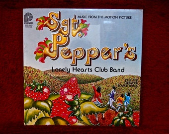SEALED...SGT. PEPPERS Lonely Hearts Club Band - Music From Soundtrack - 1978 Vintage Vinyl Record Album...Not Original Soundtrack