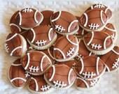 3 dozen Football Cookie Nibbles