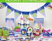 Goosebumps Party DIY Printable Kit - INSTANT DOWNLOAD