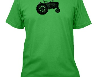 Farming Shirt - Tractor Shirt Mens Shirt - Farm Shirt - 3 Colors Available - Mens Cotton TShirt - Gift Friendly