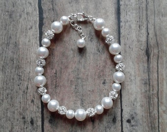 Bridal Jewelry, Bride Pearl Bracelet, Wedding Bracelet, Pearl Bridal Jewelry, Bride Bracelet, Wedding Jewelry, Bride Jewelry, Pearl Jewelry