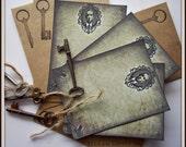 H.P. Lovecraft Elegant Note Card Set with Envelopes