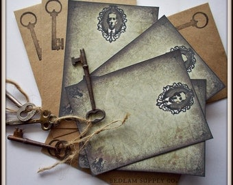 H.P. Lovecraft Elegant Note Card Set with Envelopes