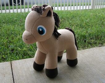 Large Huggable Horse Plush