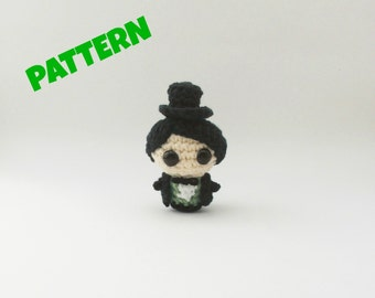 Wizard of Oz Doll Pattern / Crochet Doll Pattern / Amigurumi Doll Pattern / Crochet Amigurumi Pattern / Kids Pattern / Christmas Toy Pattern