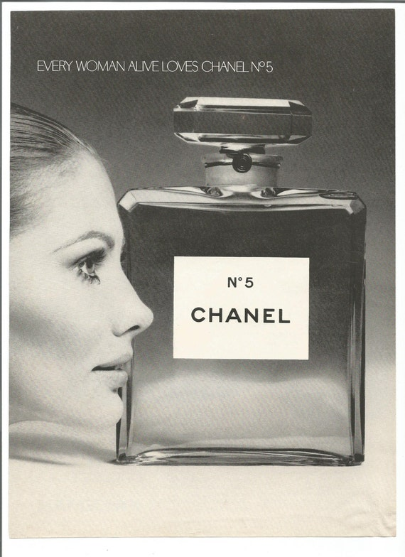 1970 werbung chanel no 5 parfum der 70er jahre sch nheit frau. Black Bedroom Furniture Sets. Home Design Ideas