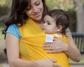 Beachfront Baby Wrap Carrier- water babywearing at the beach, pool, water park or in the shower- ISLAND MANGO