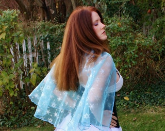 Snowflake Capelet - Choose from 2 Lengths