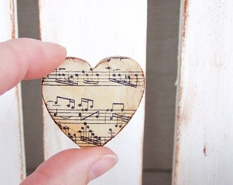 Music Wedding Favor Magnets-Wedding Favors-Rustic Wedding Favors-Antique Wedding Favor Magnet-Wedding Favor Gifts-Vintage Wedding