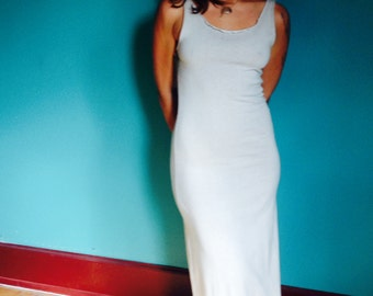 Gaia Dress - Hemp - Organic Cotton - Herbal Dye - Womens Dress - Natural Clothing - Juniperous