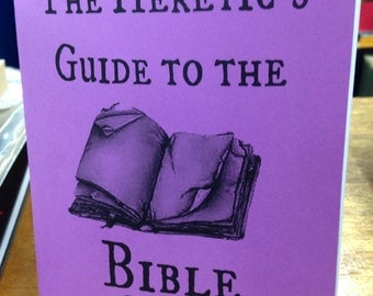 Heretic's Guide to the Bible by Chaz Bufe Pamphlet Zine