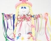 hair accessory holder, girls bedroom decor, girls  accessories, accessory organizer, barrette keeper,    HH80