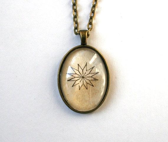 Items similar to minimalist jewelry boho pendant necklace for Minimal art jewelry
