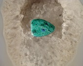 Azurite Malachite cabochon  RARE High Quality 11-8