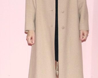 Camel Maxi Coat
