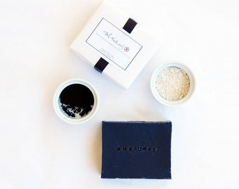Zen Black Facial Soap (Black rice & Japanese Bamboo Charcoal)