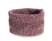 Medium Warm Mauve Knit De...