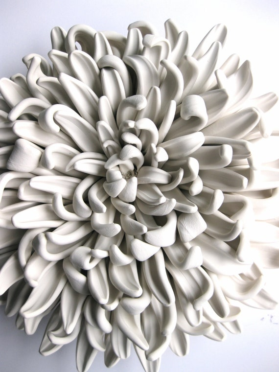 Chrysanthemum Wall Sculpture