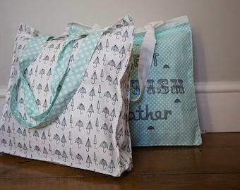 Canvas Shopper bags