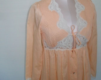 Vintage Robe Dressing Gown by Mistee
