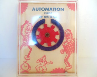 Vintage Robot Puzzle Drueke and Sons 50's (item 1)
