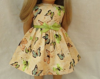 18 Inch Doll-American Girl Dress: For the Beauty of Butterflies