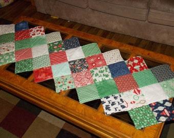 Christmas tablerunner.  Moda Fabric tablerunner.