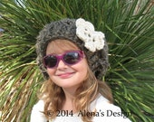 Crochet Pattern 112 - Crochet Hat Pattern - Hat Crochet Pattern for Mary Slouchy Hat - Toddler Child Teen Adult Women Bulky Beret Lace Hat