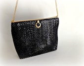 Black Mesh Evening Bag Whiting & Davis