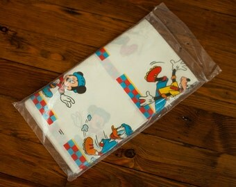 Vintage Mickey Mouse Party Table Cover