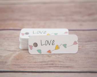 Gift Tags / Thank You Tags / Hang Tags / Wedding Favor Tags / Party Favor Tags / Valentines Tags / Spring Gift Tags