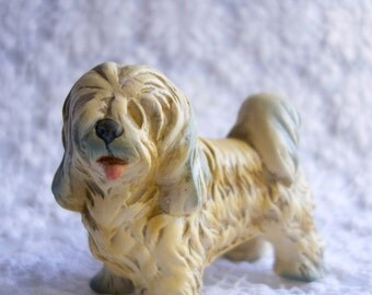 lhasa apso dog figurine Japan