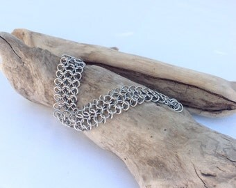 Stainless Steel Chainmaille Bracelet - Ready to Ship