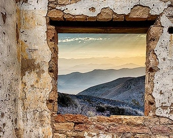 The Window To Death Valley - Available Sizes (5x7) (8x12) (12x18) (16x24) (24x36)